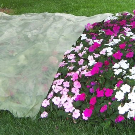 Non woven fabric for agricultral cover